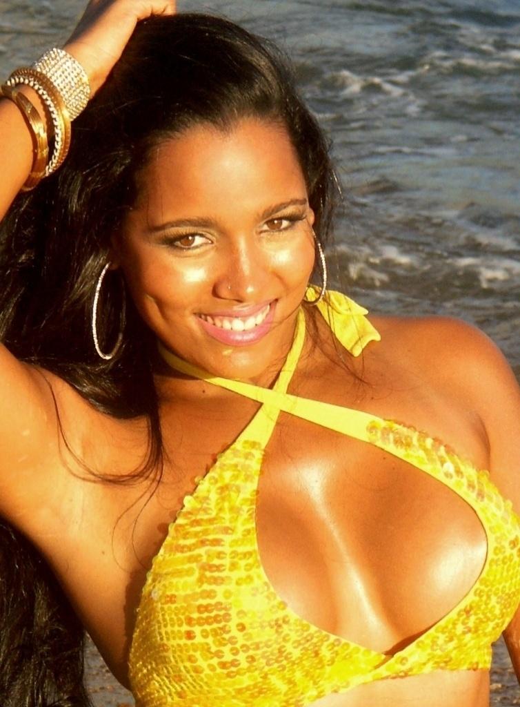 Katiely Kathissumi, torcedora do Bahia, se inscreveu no Belas da Torcida 2013