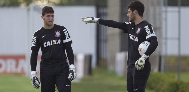 Matheus Vidotto, quarto goleiro do Corinthians, que foi convocado pela primeira vez para a seleo brasileira