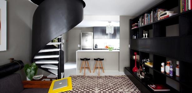 Duplex com 59 m ganha visual descolado e decora o - Fotos de duplex ...