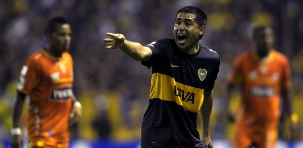 Meia argentino Riquelme relembrou da tradição do Boca Juniors na Libertadores