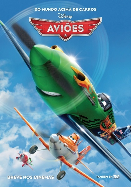 """A animação """"Aviões"""" ganhou seu primeiro pôster nacional"""