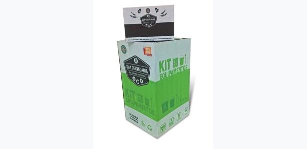 Kit permite que amadores produzam até cinco litros de diferentes estilos de cervejas em casa