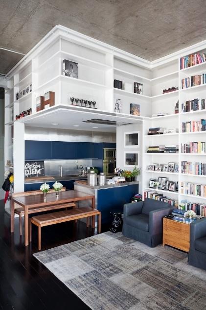 decoracao cozinha loft: modernizado, ganha ares de loft e decoração cosmopolita – BOL Fotos