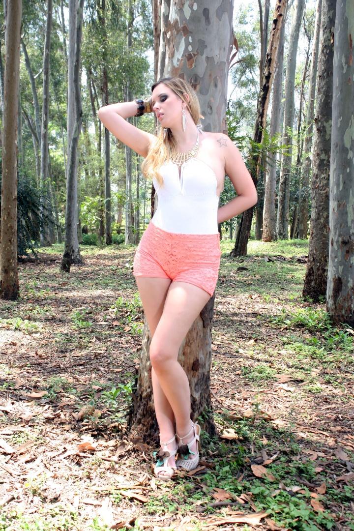 Dayane Costa quer representar o Coritiba no Belas da Torcida 2013