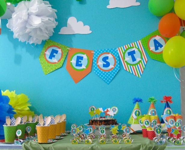 incrementam a decoração das festas  Gravidez e Filhos  UOL Mulher
