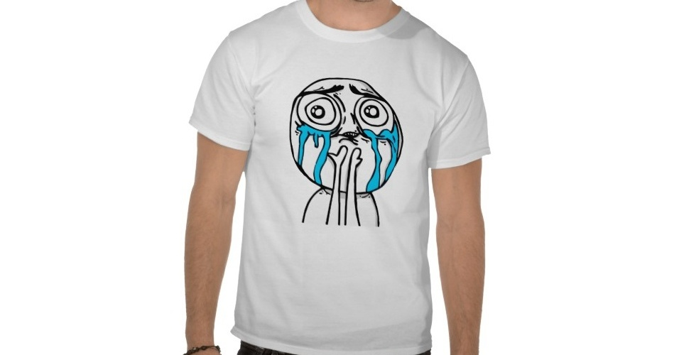 Aqui a camiseta traz o meme Cuteness Overload, usado para situações em que a meiguice é extrema. Do Zazzle, R$ 34,40