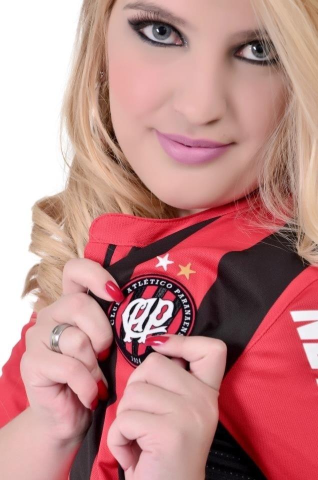 Jéssica Ribeiro se inscreveu para representar o Atlético-PR no Belas da Torcida 2013