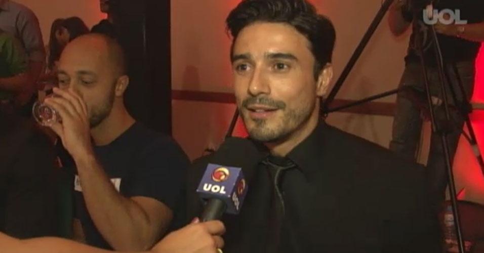 Lucas Gil, Mister Brasil 2007 estava entre os jurados do concurso
