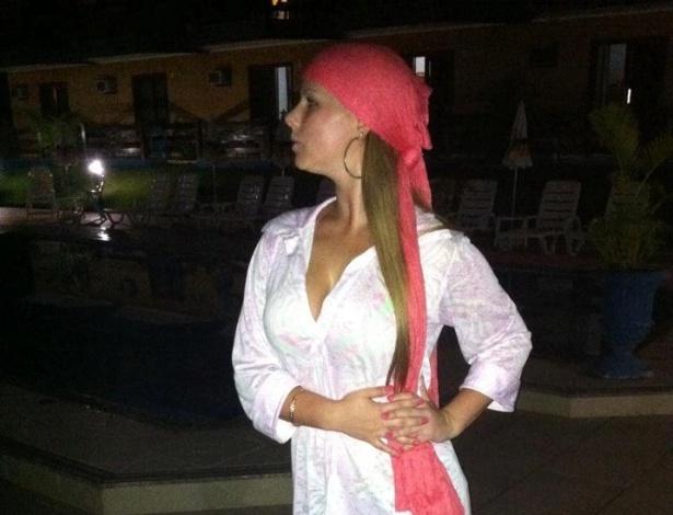 Soraia Petris está na briga para representar o Avaí no Belas da Torcida 2013