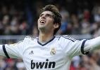 Espanhol: Kaká é titular e marca em goleada de virada do Real