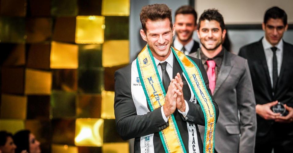 O Mister Ilhas do Delta do Jacuí, Reinaldo Dalcin, é o Mister Brasil 2013!
