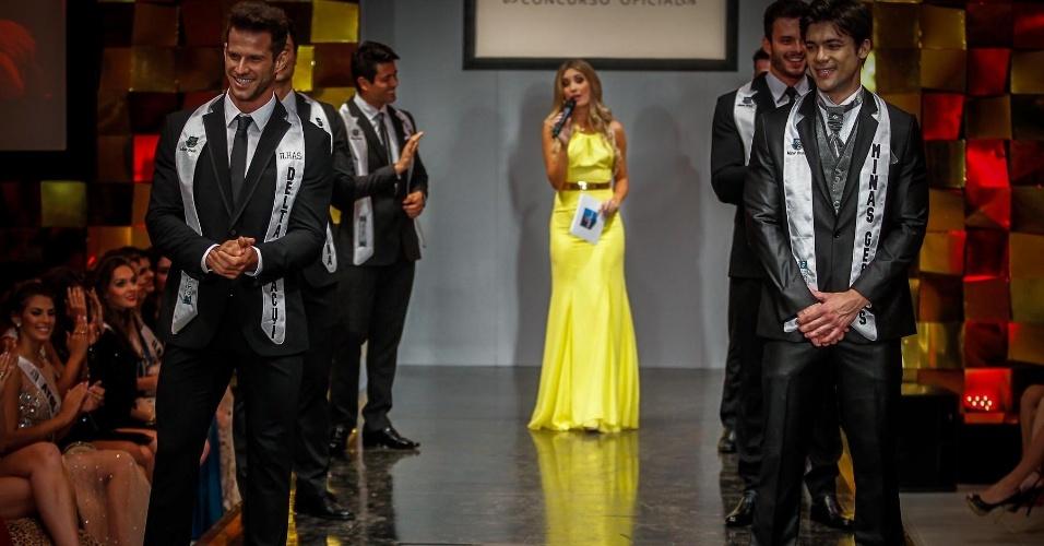 Os seis finalistas aguardavam ansiosos o anúncio final