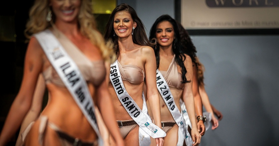 6.abr.2013 - Final do Miss Brasil World 2013