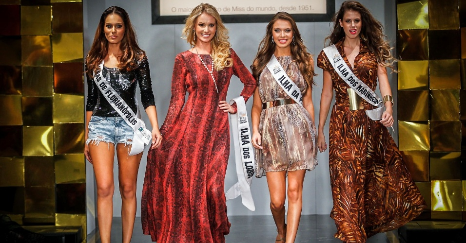 6.abr.2013 - Final do Miss Brasil World 2013 Sancler