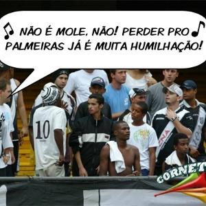 Corneta FC: Torcida da Ponte se revolta após derrota para o Palmeiras