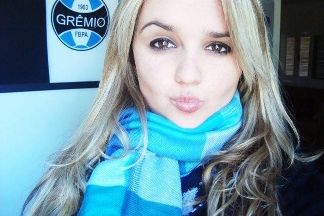 Débora Aguiat está inscrita na disputa para representar o Grêmio no Belas da Torcida 2013