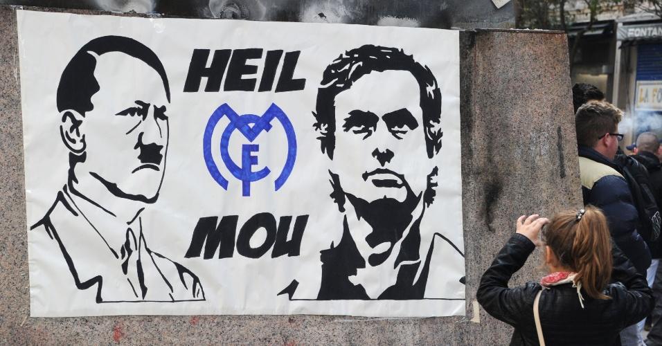José Mourinho é comparado a Hitler em Madri