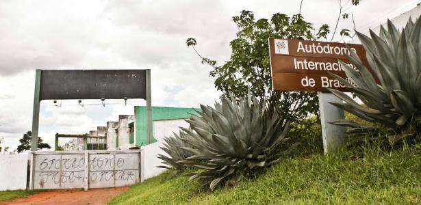 Autódromo Nelson Piquet, em Brasília, que deveria receber a prova em março