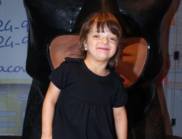 9.abr.2013 - Rafaella Justus prestigiou o aniversário de três anos de Stefano, filho de Marcos Mion e Suzana Gullo. A festa foi realizada em São Paulo