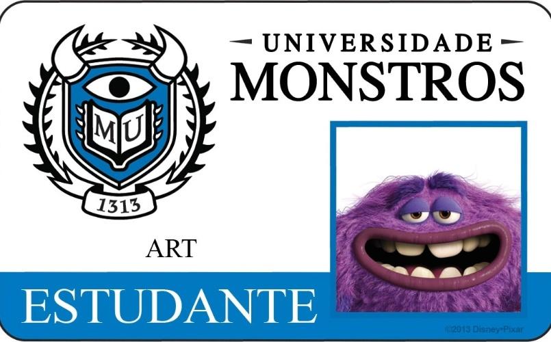 """A Disney Pixar divulgou novo material do filme """"Universidade Monstros"""" que mostra os cartões de identidade de alguns personagens. A animação estreia dia 21 de junho nos Estados Unidos"""