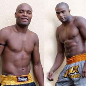 Anderson Silva e Pel Landi