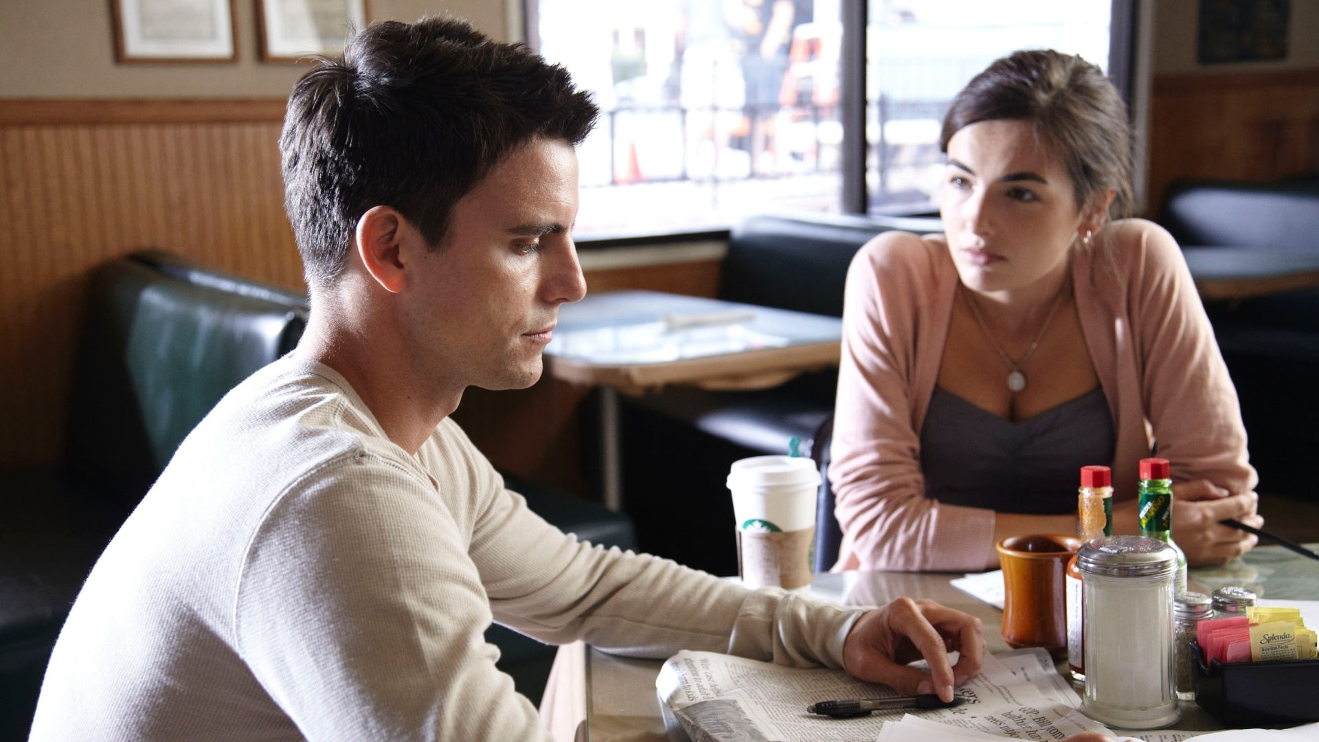 Camilla Belle e Colin Egglesfield em cena do filme
