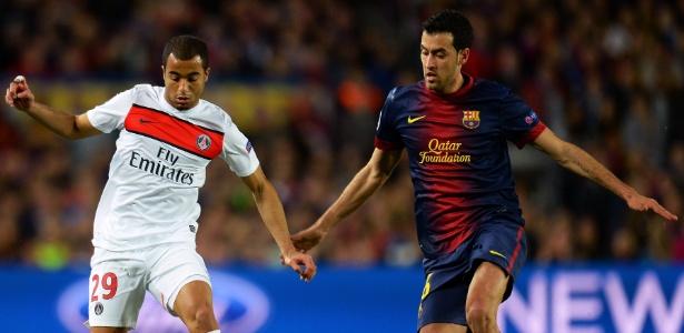 Mesmo com o pouco tempo no clube, Lucas já é um dos principais jogadores do PSG