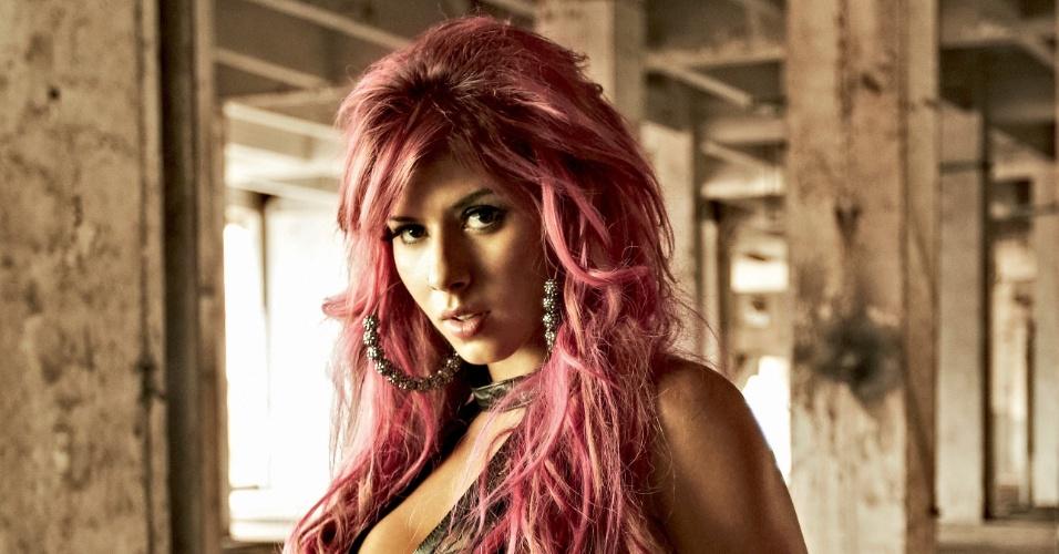 Capa Da Playboy Panicat Diz Que Ideia De Tingir Os Pelos Rosa