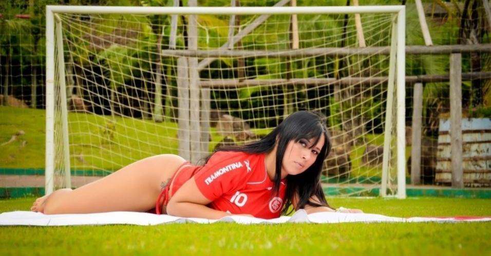 Adriana Müller quer representar o Internacional no Belas da Torcida 2013
