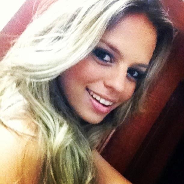 Bianca Grippi quer representar o Botafogo no Belas da Torcida 2013