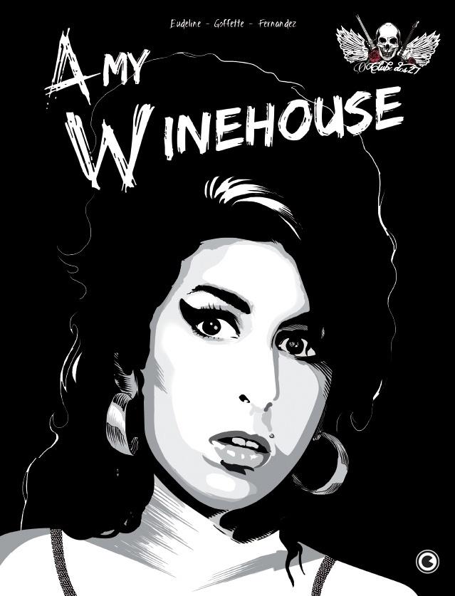 Capa do volume dedicado à cantora Amy Winehouse da série