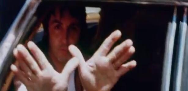 Paul McCartney em cena do especial do Wings em 1976