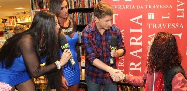 10.abr.2013 - Nicole Bahls, Ceará e Daniel Zukerman, do