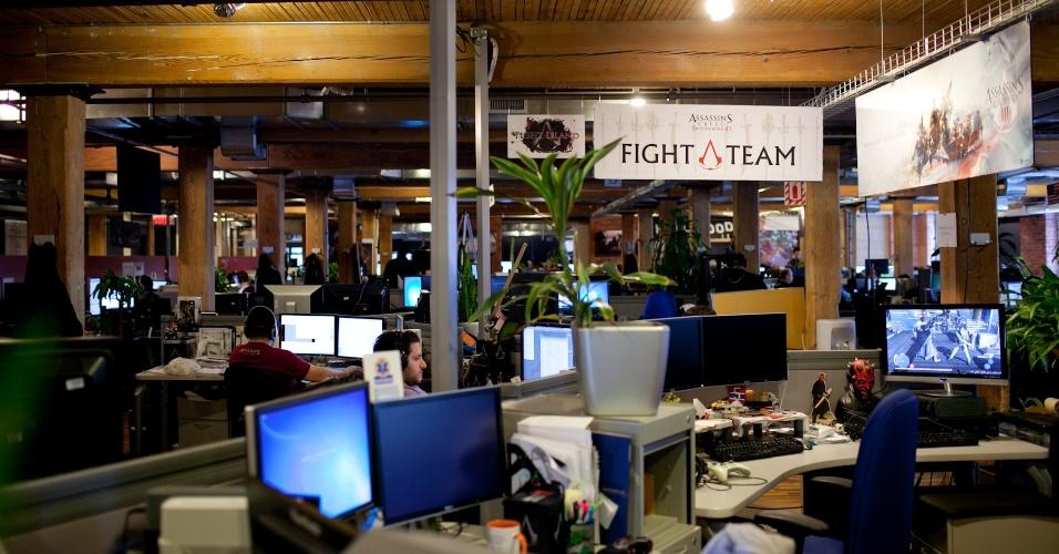 """A Ubisoft Montreal é o """"lar"""" de """"Assassin's Creed"""", principal franquia da empresa"""