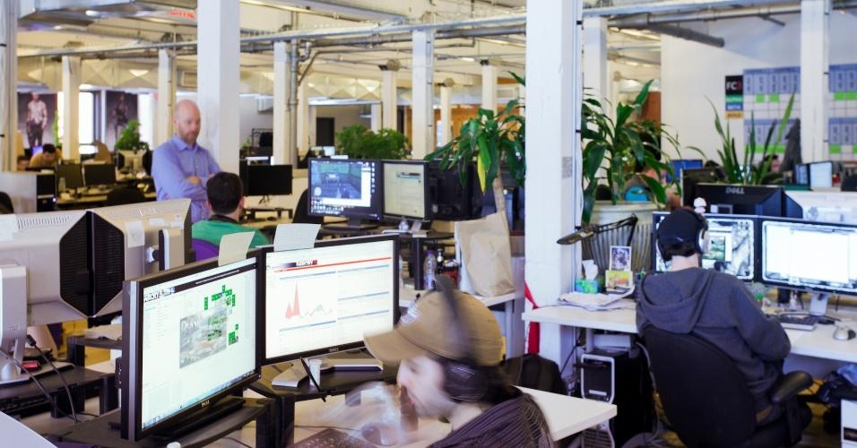 """Com 2.100 funcionários, a Ubisoft Montreal produz séries como """"Assassin's Creed"""" e """"Far Cry"""""""