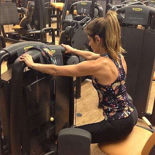 13.abr.2013 - A apresentadora Carol Magalhães convida os internautas a mandar a foto dos seus treinos para #carolmagalhaesworkout #carolworkout 4 a partir do dia 20.