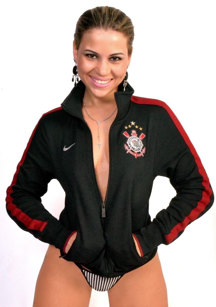 Amanda Leão está entre as concorrentes do Corinthians no Belas da Torcida 2013