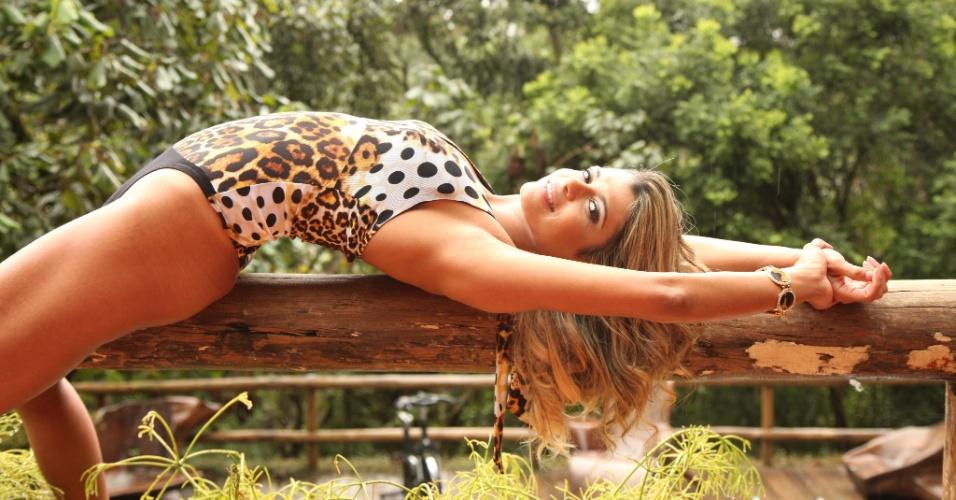 Ana Lisboa quer representar o Corinthians no Belas da Torcida 2013
