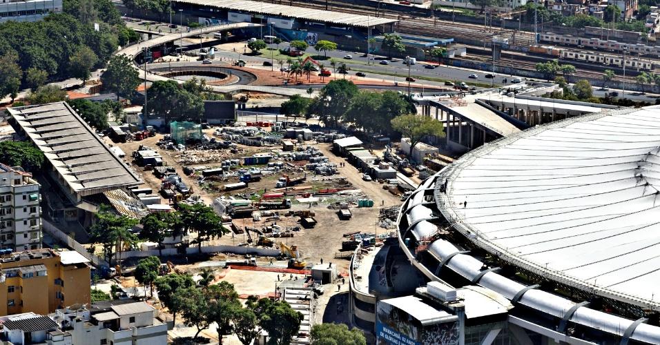 12.abr.2013 - Apesar da demolição oficial ainda não ter data, Célio de Barros já está comprometido