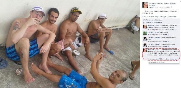 Presos postam foto no Facebook que foram tiradas dentro de penitenciária em Cuiabá