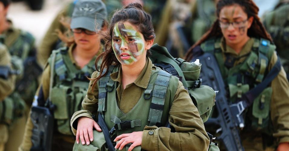 O exército de Israel é cheio de beldades... e que beldades