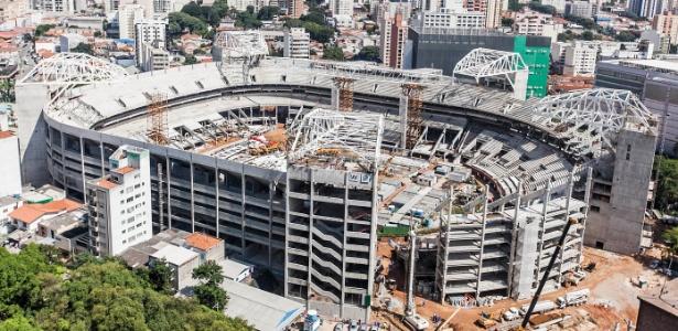 Após acidente com morte, Arena Palestra tem reabertura parcial das obras nesta quarta