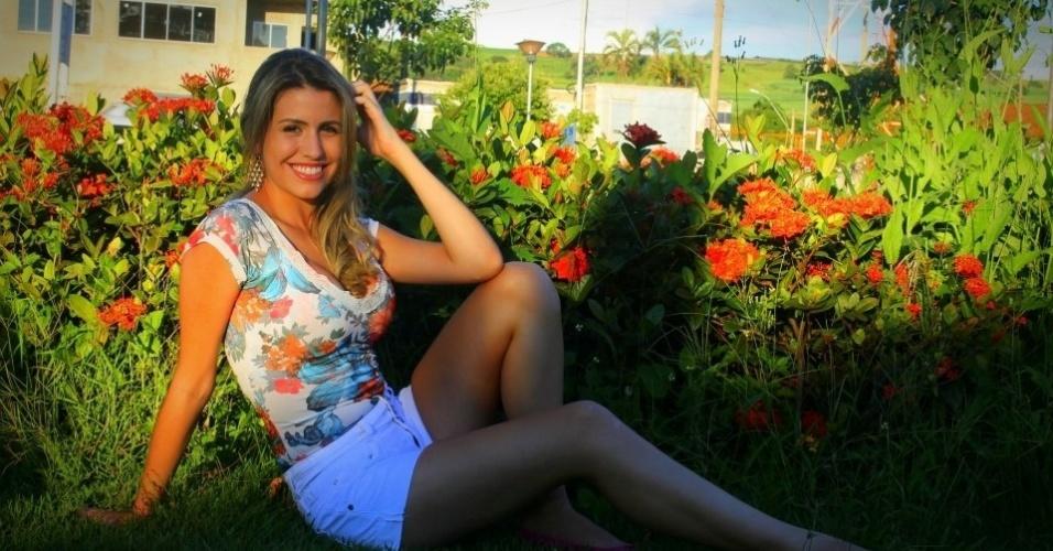 Jéssica Tibagy está entre as concorrentes para representar o Corinthians no Belas da Torcida 2013