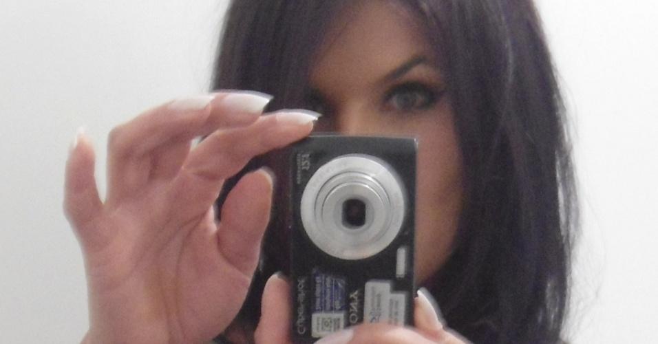 Marina Cordeiro quer representar o Corinthians no Belas da Torcida 2013