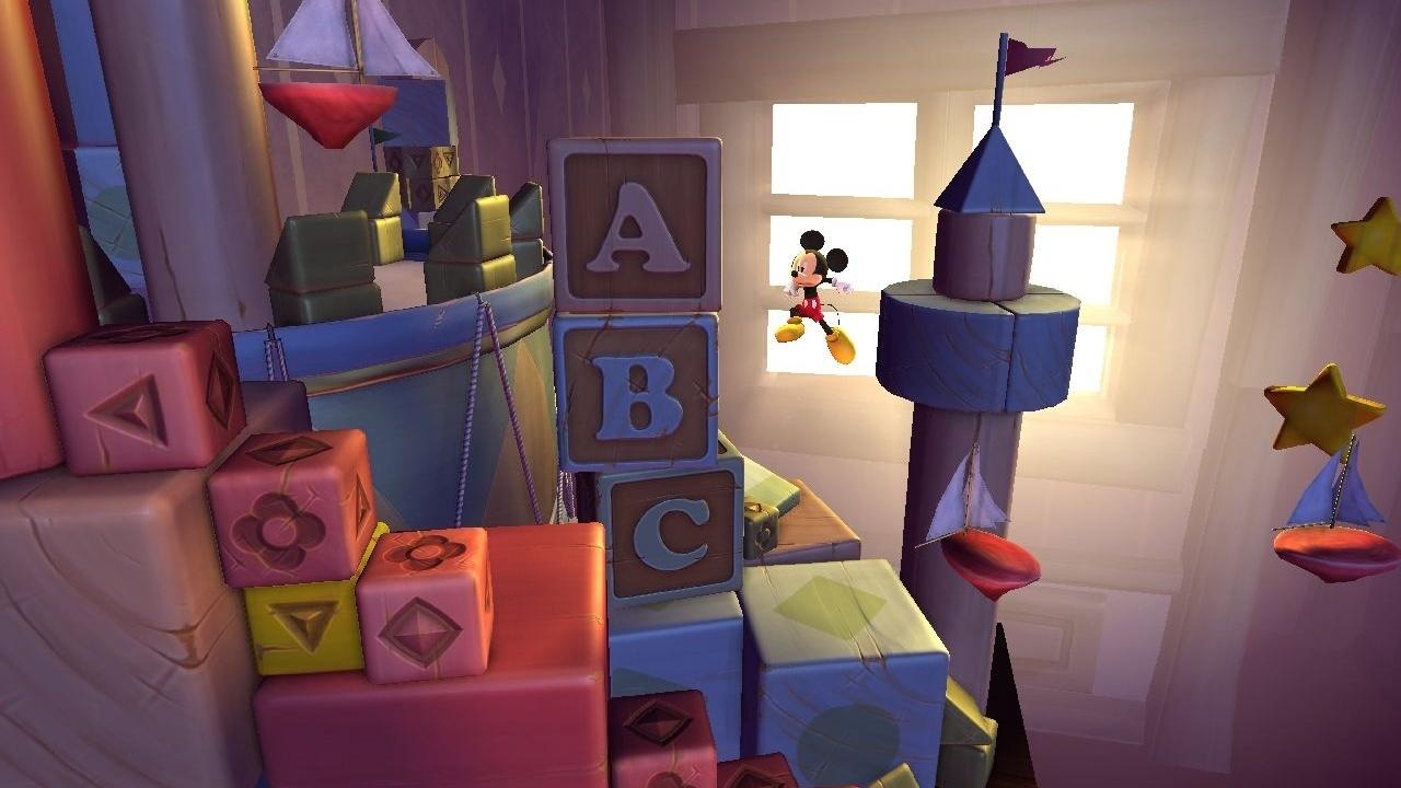 """bastidores de """"Castle of Illusion"""" em HD; assista - Jogos - UOL Jogos"""