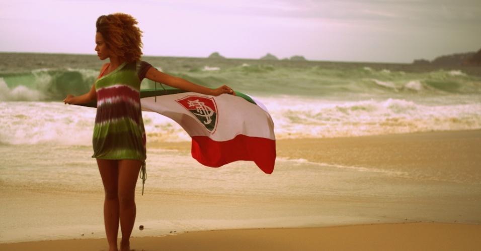 Catarina Braga vai representar o Fluminense no Belas da Torcida 2013