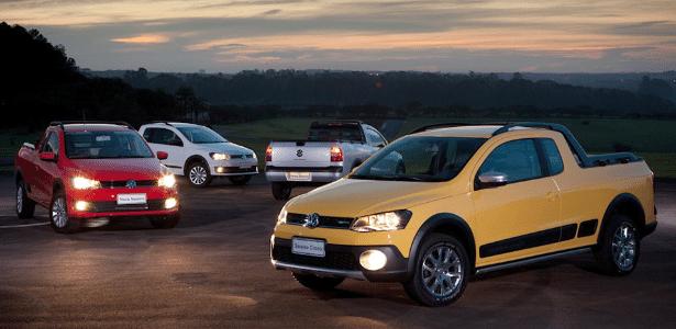 Frente concentra mudanças da Saveiro 2014, agora alinhada à família Volkswagen