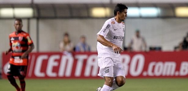 Durval busca companheiros do Santos na partida contra o Flamengo-PI pela Copa do Brasil