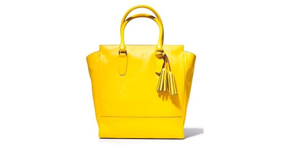 A bolsa amarela usada pela delegada Helô (Giovanna Antonelli) é da Coach (Tel.: 11 3071-3932)