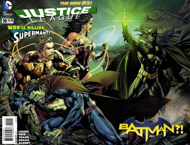 """Batman tenta matar Superman em nova HQ de """"Liga da Justiça"""""""